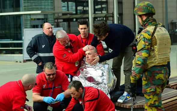 تصاویر : بروکسل بعد از انفجار