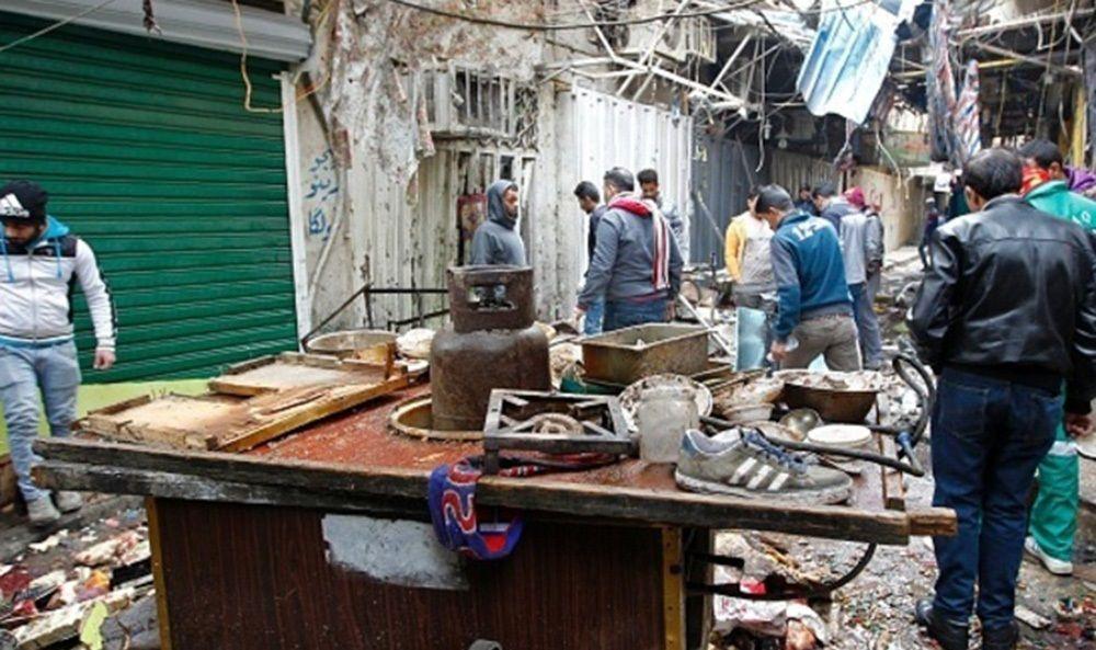 تصاویر : انفجار خونین در بغداد
