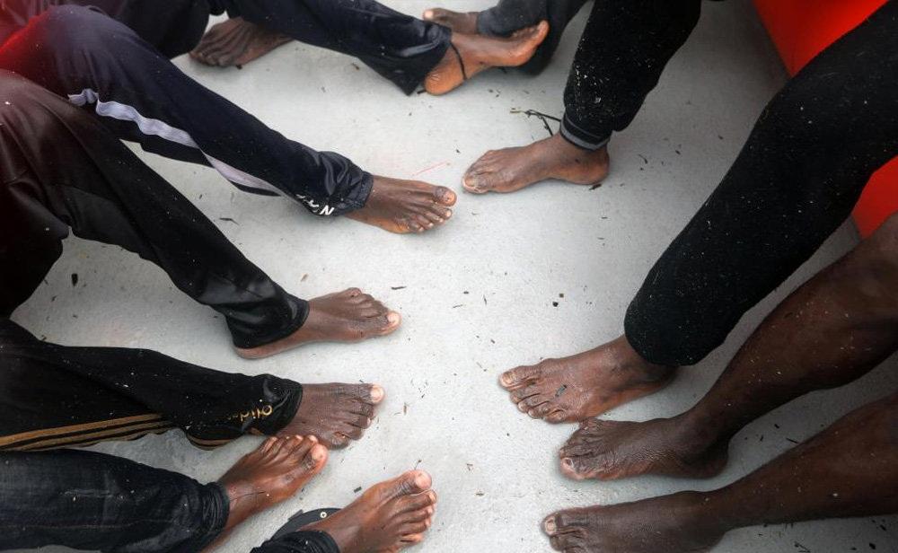 تصاویر : نجات از دریای مدیترانه