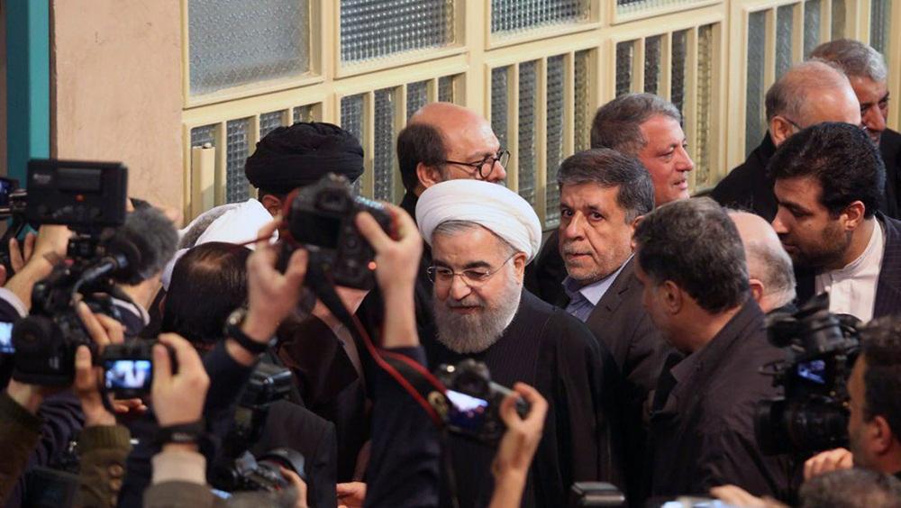 تصاویر :مراسم وداع با پیکر آیت الله هاشمی رفسنجانی