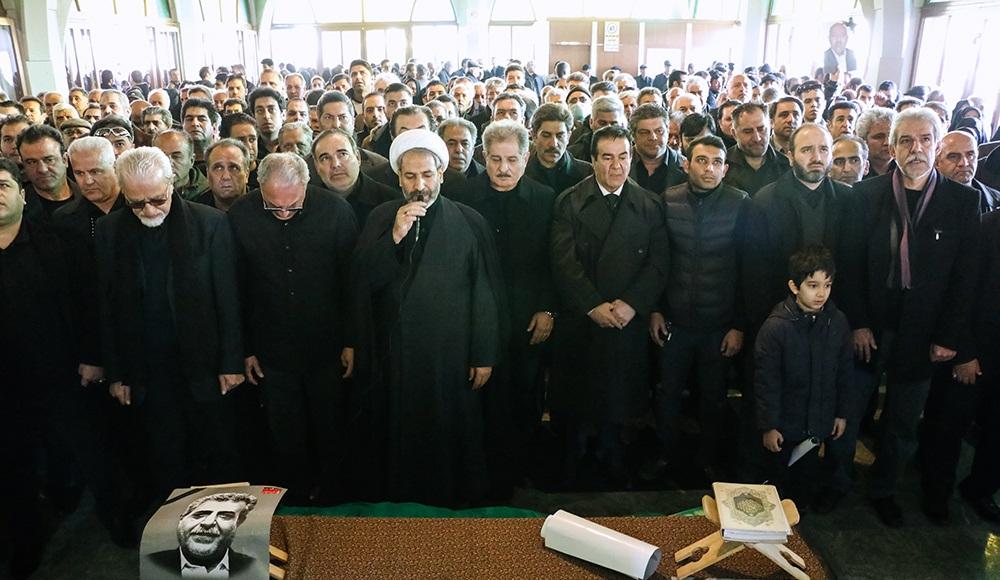تصاویر : مراسم تشییع کاپیتان اسبق باشگاه پرسپولیس