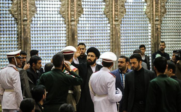 تصاویر : مراسم خاکسپاری آیتالله هاشمی