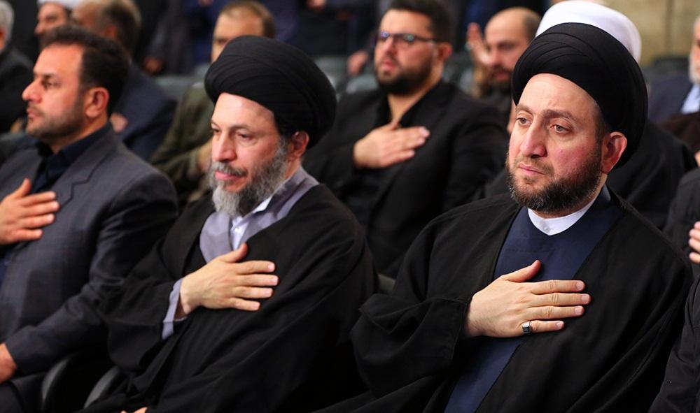 تصاویر : مراسم ترحیم آیت الله هاشمی رفسنجانی در حسینیه امام خمینی(ره)