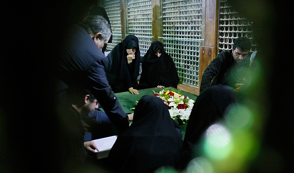 تصاویر : خانه ابدی آیت الله هاشمی رفسنجانی