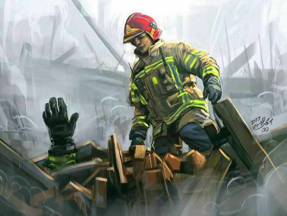 عکس/ به یاد آتش نشانان قهرمان شهید
