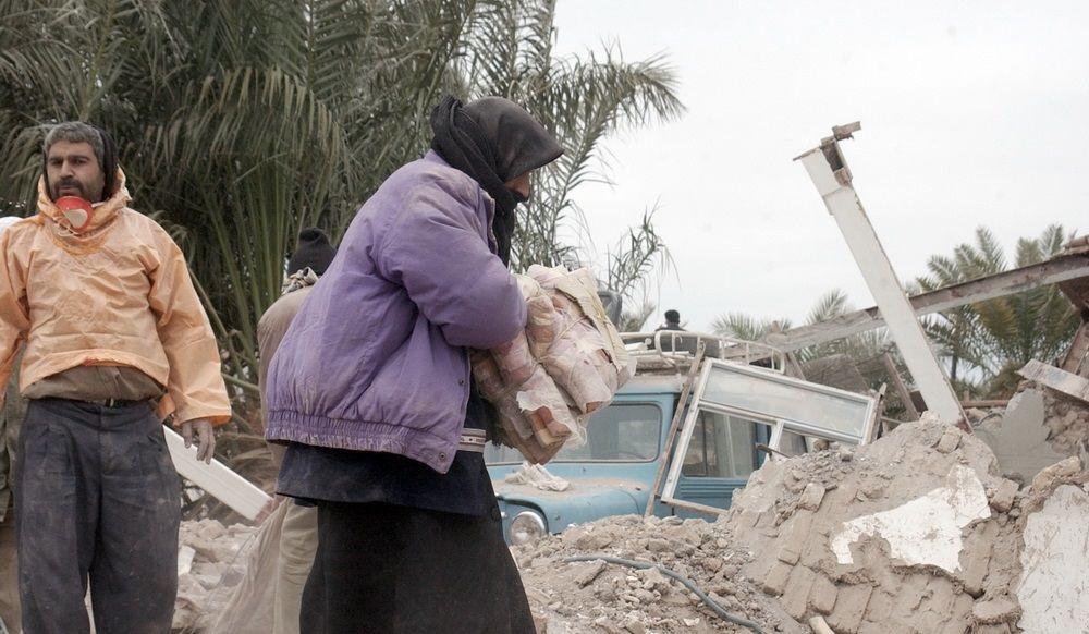 تصاویر : سالگرد زلزله بم