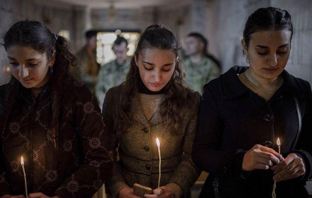 تصاویر : جشن کریسمس در موصل