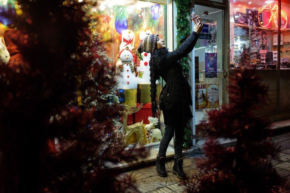 تصاویر : کریسمس در تهران