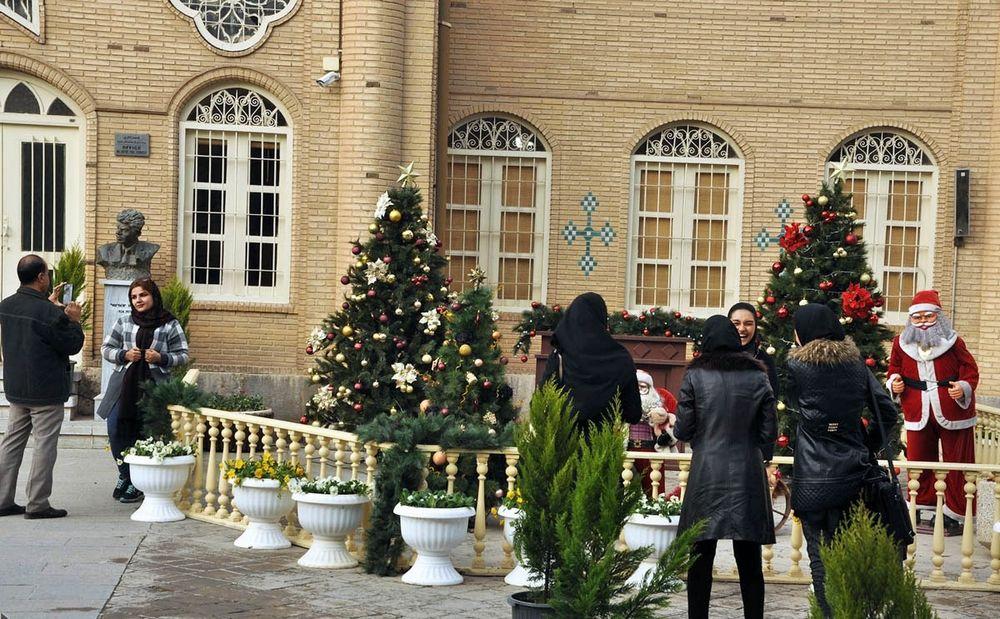 تصاویر : «جلفای اصفهان» در انتظار سال نو میلادی