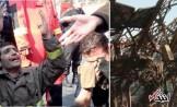 آتش نشانی: احتمال زنده بودن آتش نشان های مفقود به صفر رسیده /شاید به پیکر سالم محبوسان دسترسی پیدا نکنیم +فیلم و تصاویر