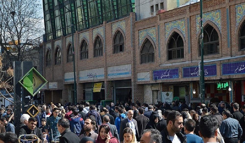 عکس از شلوغی بازار تهران