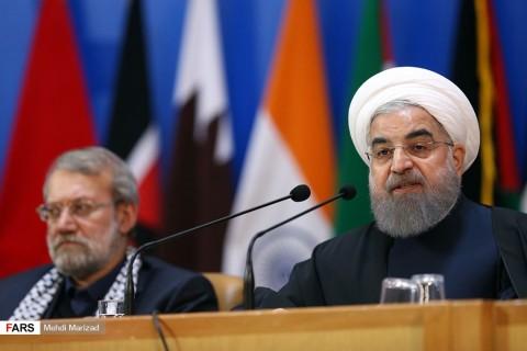 رییس جمهوری:موضوع فلسطین بیش از هفتاد سال وجدان جامعه جهانی را به درد آورده است