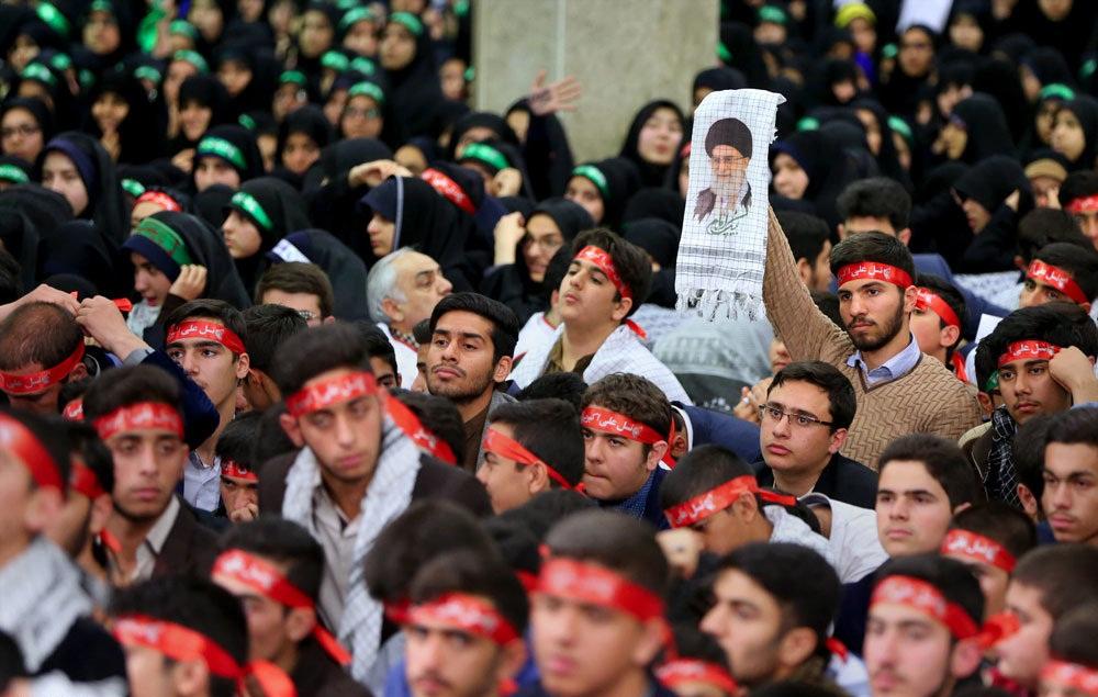 تصاویر : دیدار اعضای انجمنهای اسلامی دانشآموزان با رهبر معظم انقلاب