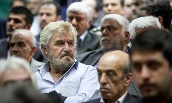 تصاویر : چهره های سیاسی در مراسم ترحیم والده نوبخت