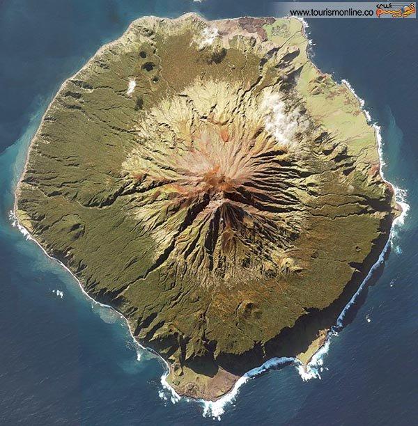 کوچک ترین و دور افتاده ترین جزیره جهان + تصاویر