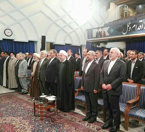 عکس: دیدار منتخبان مجلس دهم با روحانی