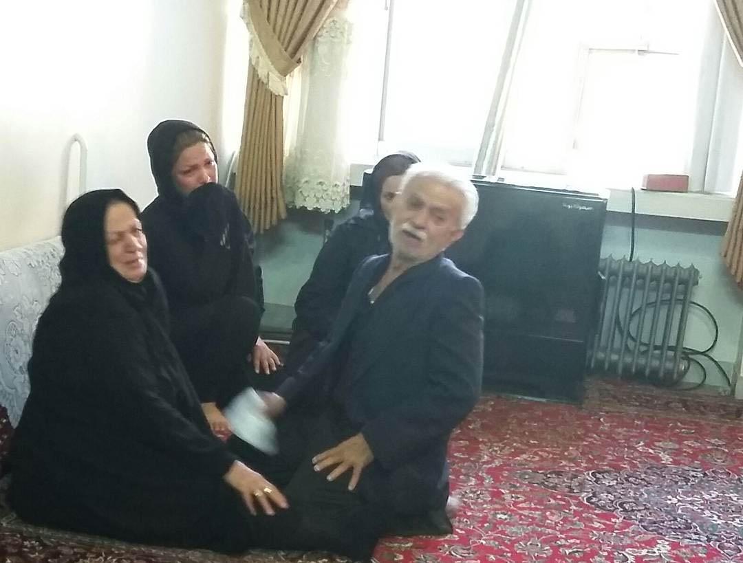 عکس دردناک از پدر و مادر مهرداد اولادی