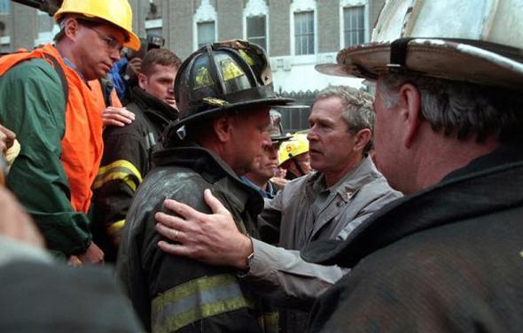 تصاویر : بوش پس از 11 سپتامبر