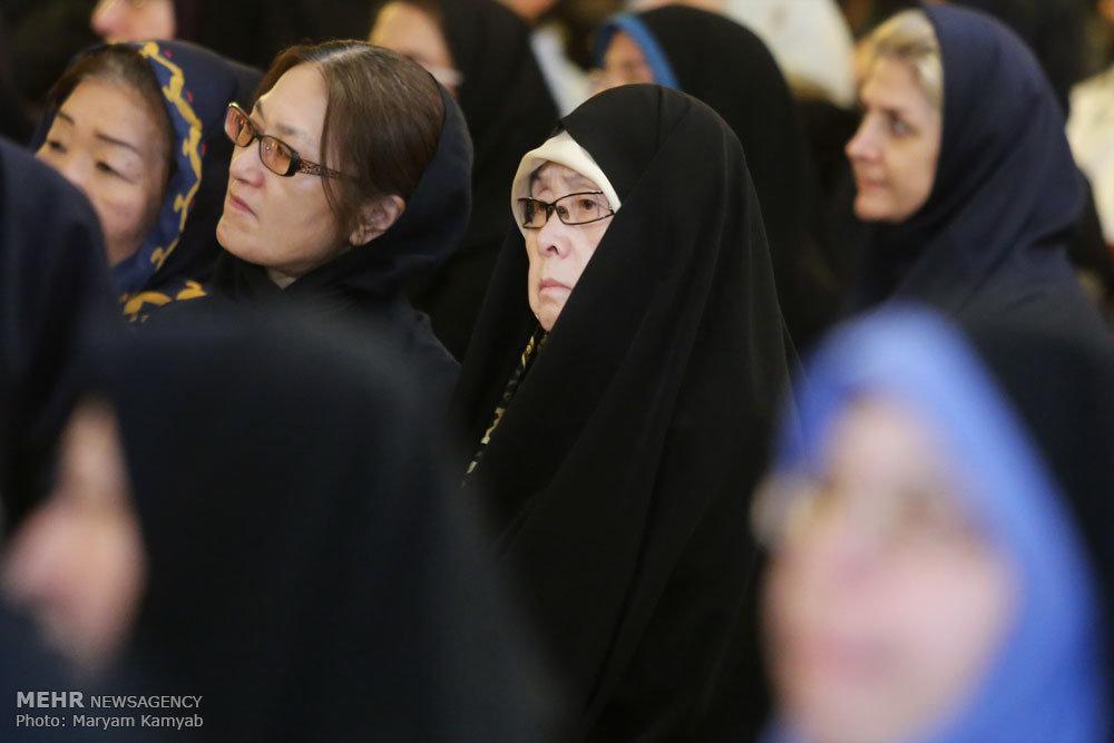 عکس/حجاب جالب بانوی ژاپنی در تهران