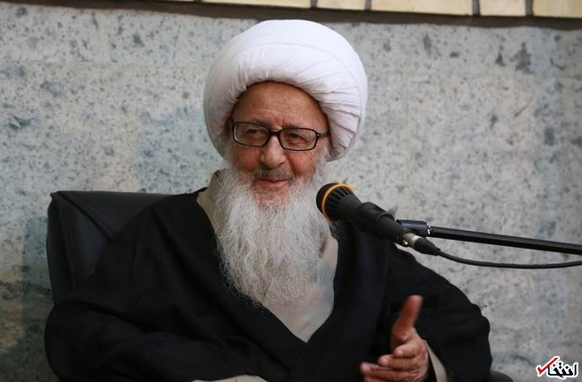 دیدار مدیر عامل بانک ملی ایران با مراجع عظام تقلید در قم + تصاویر