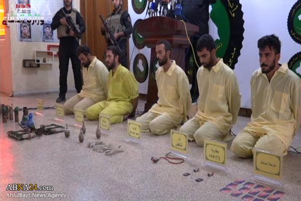 عکس/ دستگیری عاملان حمله به زائران حرم امام کاظم(ع)