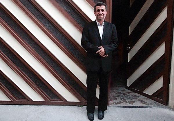 احمدی نژاد دوباره آفتابی می شود