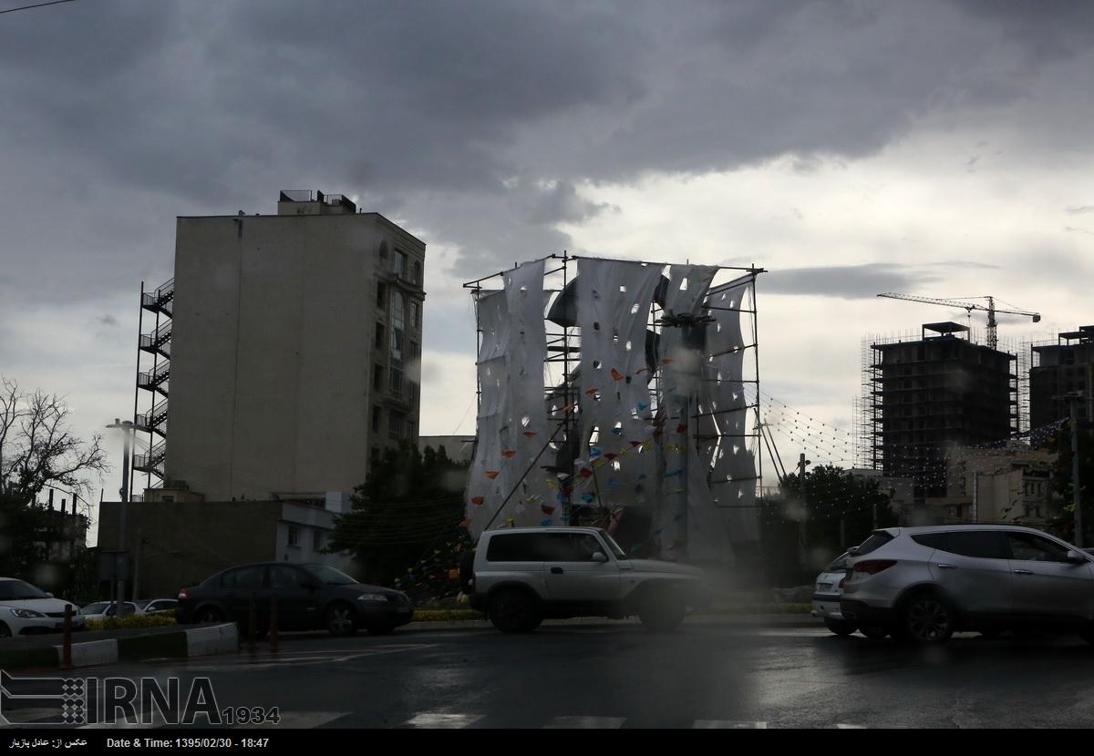 هوای امروز؛ پنجشنبه تهران (عکس)