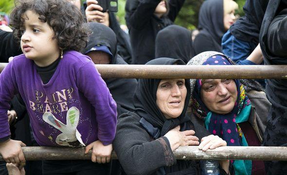 تصاویر : ختم مهرداد اولادی در قائمشهر