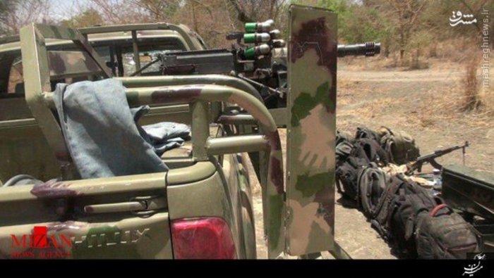 غنایم داعش در جنگ با نیجریه/ عکس