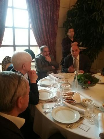 دیدارمدیرعامل بانک کشاورزی با مدیران عامل بانک های روسیه