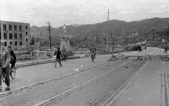 تصاویر : هیروشیما بعد از بمب اتم
