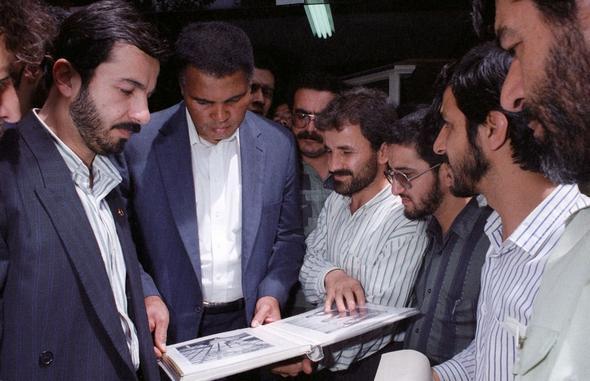 تصاویر : سفر «محمدعلی کلی» به ایران