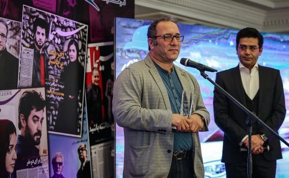 تصاویر : هنرمندان در جشن روزنامه سینما