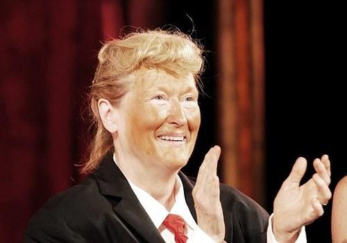 دونالد ترامپ سوژه ستاره مشهور هالیوود شد (+ عکس)