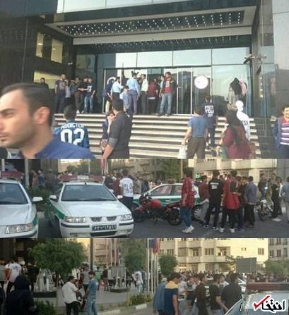 علت قرار تلگرامی دختران و پسران دهه هشتادی در غرب تهران + تصویر