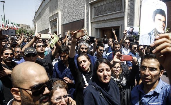 تصاویر : مجلس یادبود حبیب