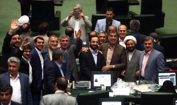 تصاویر : اختتامیه مجلس نهم