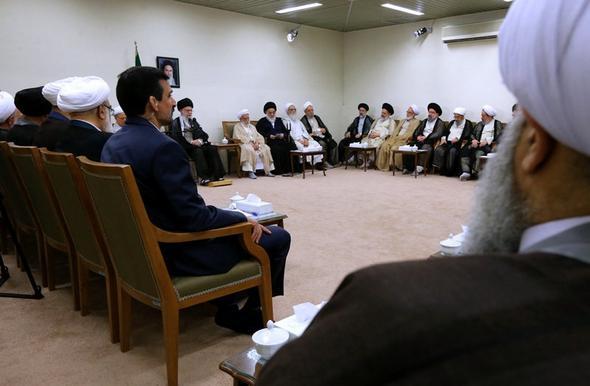 تصاویر : دیدار اعضای مجلس خبرگان با رهبرمعظمانقلاب