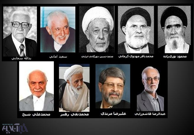 روسای سنی 10 مجلس/ از سحابی و امانی تا مرندی و هاشمزایی+ عکس