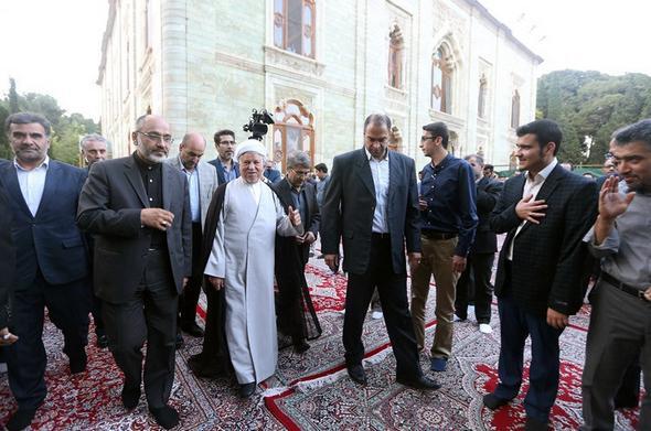 تصاویر : دیدار اصحاب فرهنگ، هنر و رسانه با آیت الله هاشمی