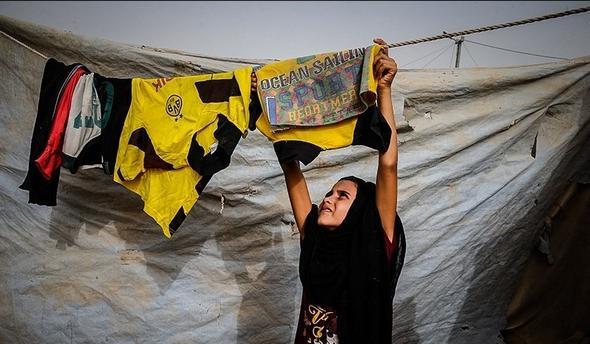 تصاویر : کمپ آوارگان فلوجه در ابوغریب