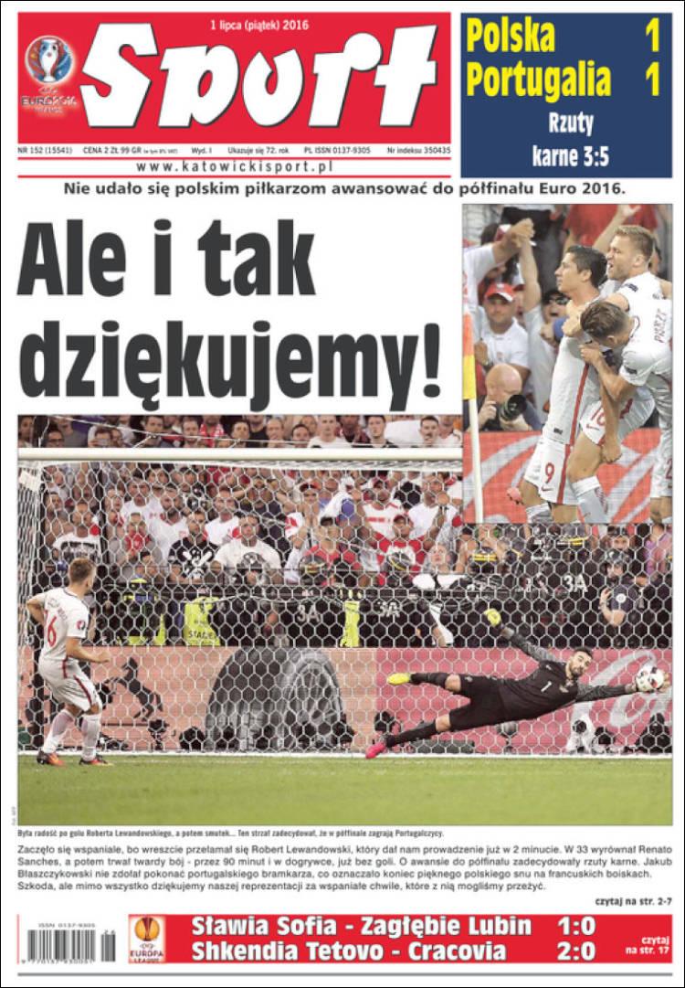 صفحه اول روزنامههای امروز لهستان + تصویر