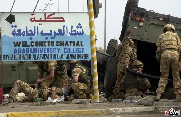 تصاویر : بلایی که تونی بلر سر عراق آورد