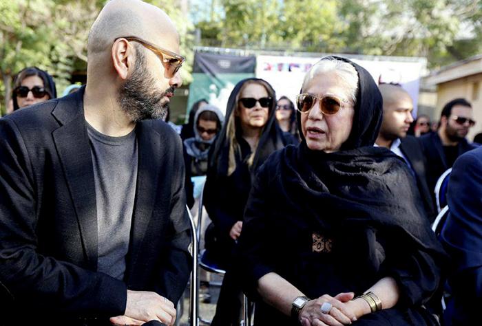 مراسم وداع با عباس کیارستمی +عكس