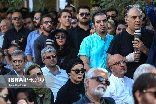 مراسم وداع با عباس کیارستمی +عکس