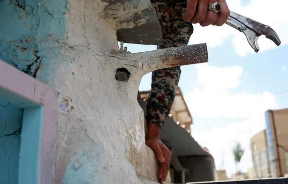 تصاویر : پلمپ مراکز فروش مواد مخدر در مشهد