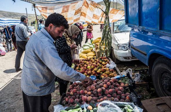 تصاویر : عید مردگان در سوادکوه
