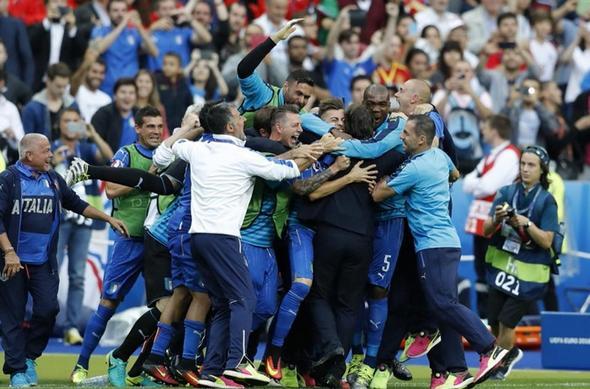 تصاویر : وداع تلخ انگلیس و اسپانیا با جام ملتها