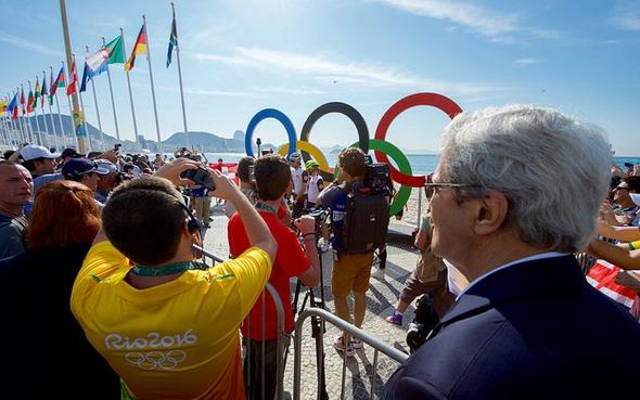 تصاویر : بازدید جانکری از دهکده المپیک