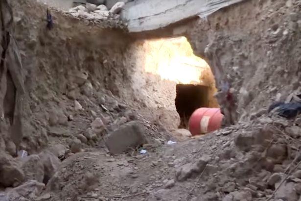 کشف تونل سه کیلومتری داعش در منطقه ای از کردستان عراق / تروریست ها برای کاهش تلفات از طریق این تونل عبور و مرور می کردند+تصاویر